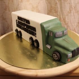 Торт-грузовик