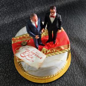 торт с Путиным