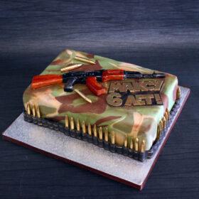 торт с автоматом