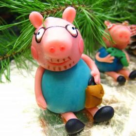 свинка пеппа из марципана