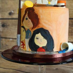 торт юный художник