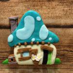 печенье домик смурфа