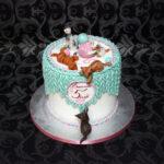 торт с котятами