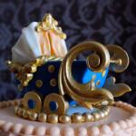 Торт для новорожденного мальчика