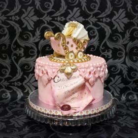 торт с коляской