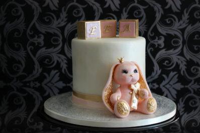 торт с зайкой Пиглет