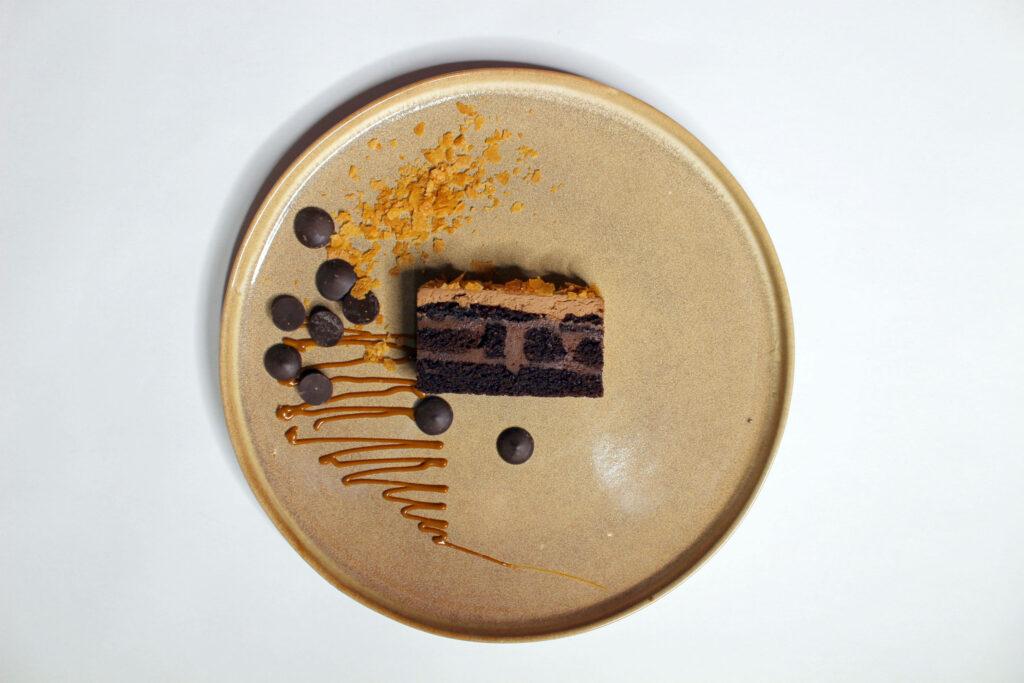 шоколадный с карамелью