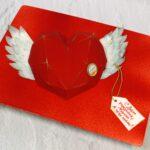 торт сердце с крыльями
